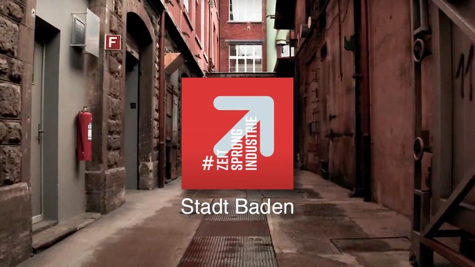 #ZeitsprungIndustrie Baden
